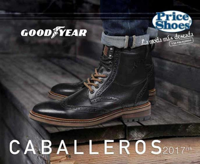 Catalogo priceshoes botas 2017 caballeros