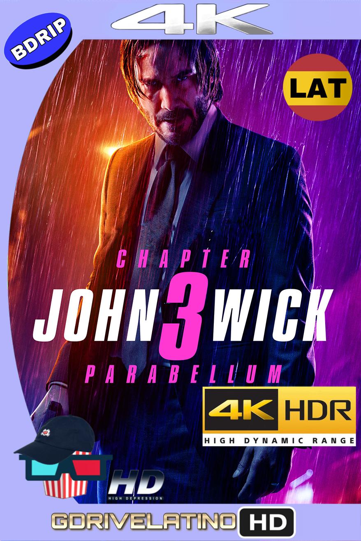John Wick 3: Parabellum (2019) BDRip 4K HDR (Latino-Inglés) MKV