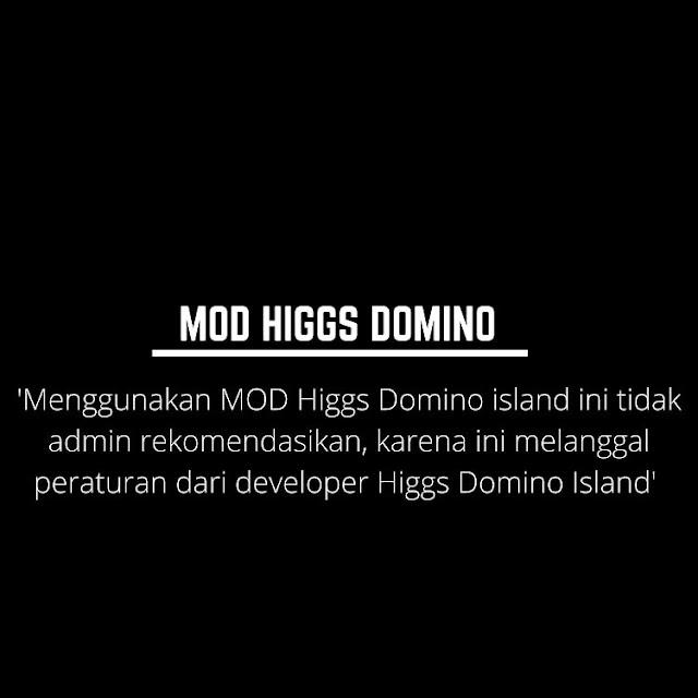 Chip Gratis Domino Island dari MOD Higgs Domino Apk