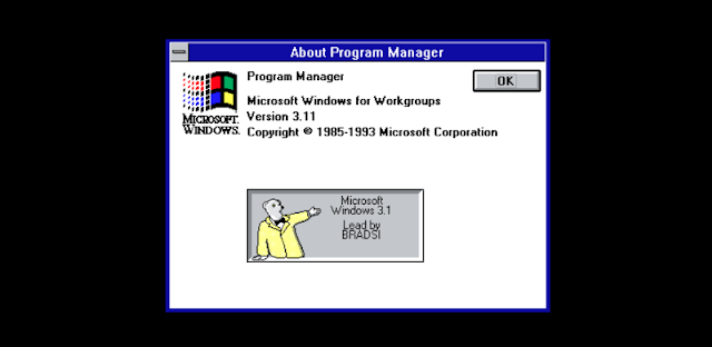 10 Unexpected Microsoft Easter Eggs - Windows 3.1