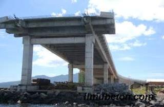 Pondasi Jembatan Soekarno