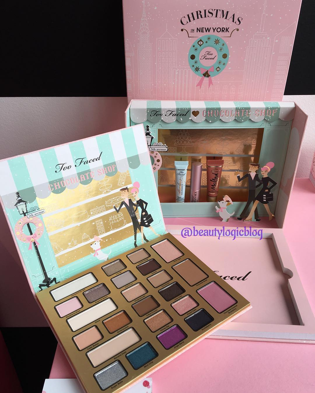 Yarnandbeauty Too Faced Christmas In New York The Chocolate Shop