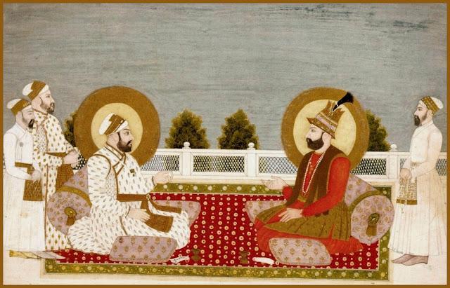 Muhammad Shah and Nadir Shah