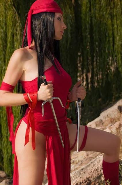 Giorgia Cosplay Elektra.