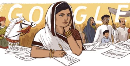 Subhadra kumari chauhan Google's Doodle