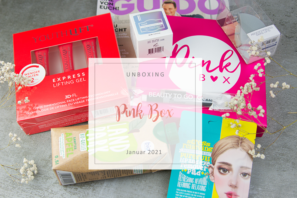 Pink Box - Januar 2021 - unboxing