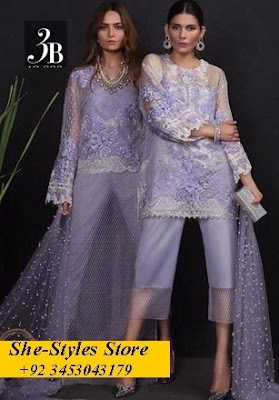 Sana Safinaz Luxury Chiffon 2017