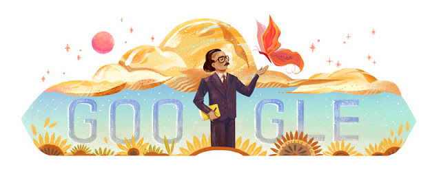 Ounsi el-Hajj's 79th birthday - Google Doodle