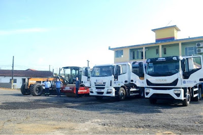 Prefeitura de Registro-SP adquire dois novos maquinários para serviços de infraestrutura