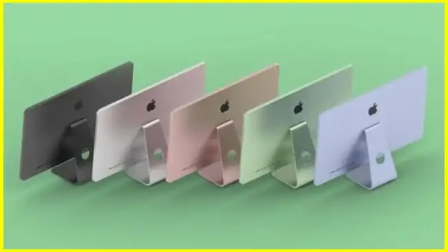 On April 20 Apple would launch its new iMac with Apple M1 CPUs in a variety of colors