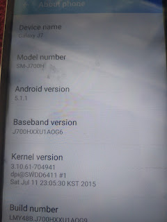 Samsung J7 Clone J700h MT6582  Flash File Without Password