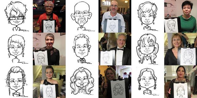 Silu Cartoon - Caricatures form live events 4