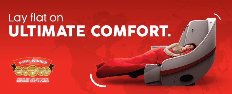 亞航AirAsia豪華平躺艙官方海報