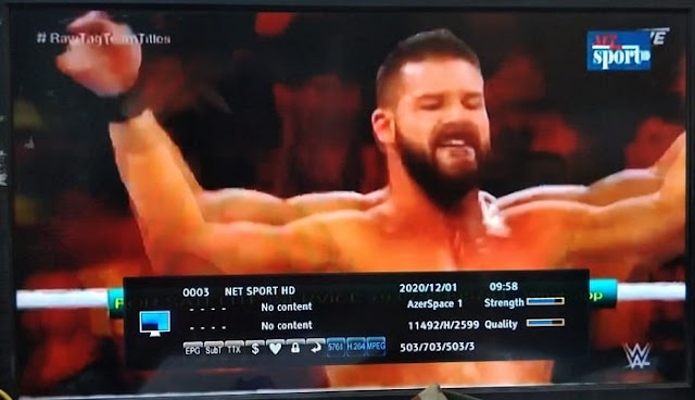 Net Sports HD started on ChinaSat 11 at 98.0°E