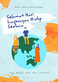 100 Template Ucapan Selamat Hari Lingkungan Hidup Sedunia 5 Juni