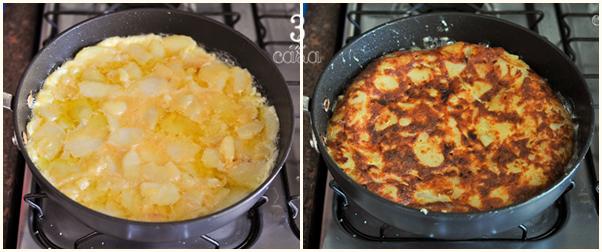 tortilla espanhola passo a passo