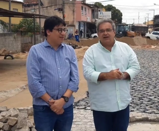 DICKSON JÚNIOR NO SECRETARIADO DE ÁLVARO