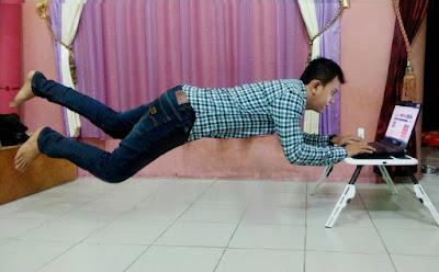Cara Membuat Foto Melayang Di Udara Menggunakan HP Android