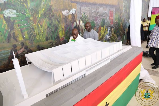 President Akufo-Addo Contributes Gh¢100,000 To Construction of National Cathedral