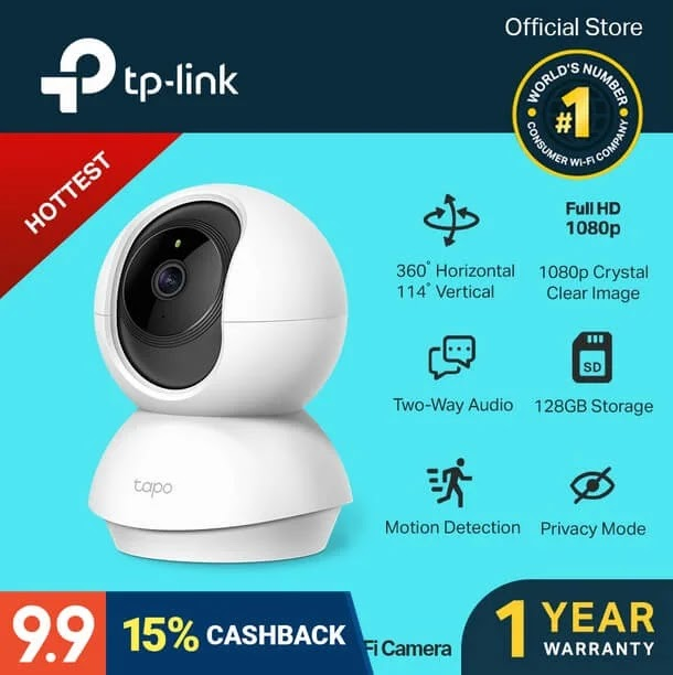 TP-Link Tapo C200 IP Camera
