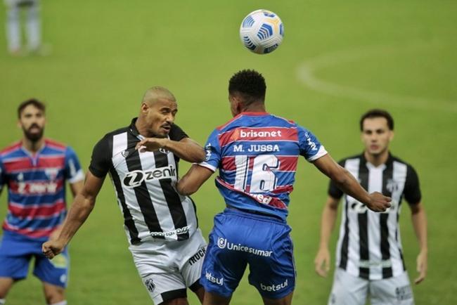 Deu empate entre Fortaleza e Ceará no jogo de ida da Copa do Brasil