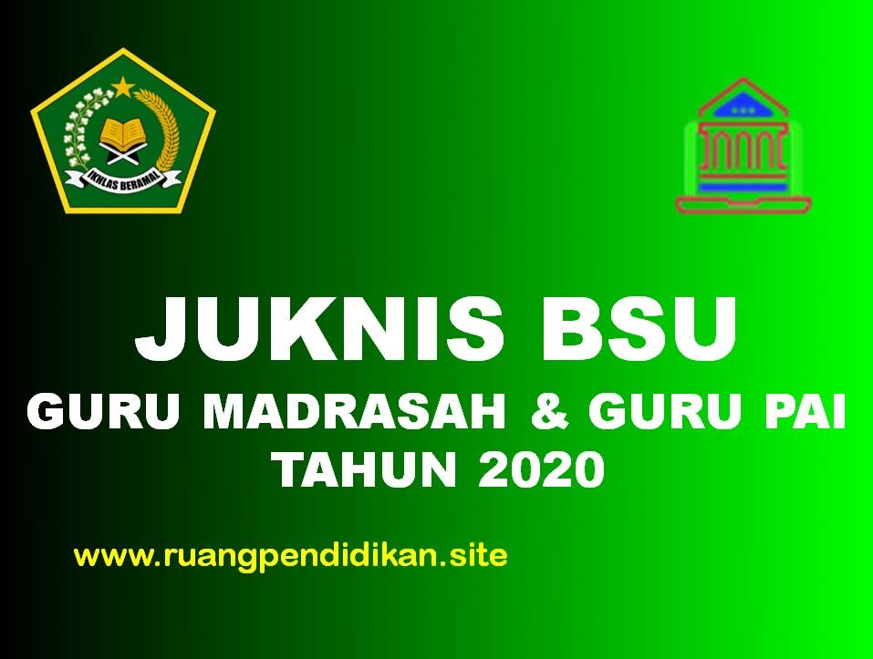 Juknis Pencairan BSU Madrasah
