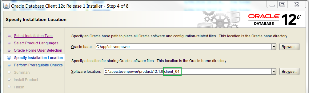 Pivotal Data: The Disappearing Act - Oracle 12c Client 32