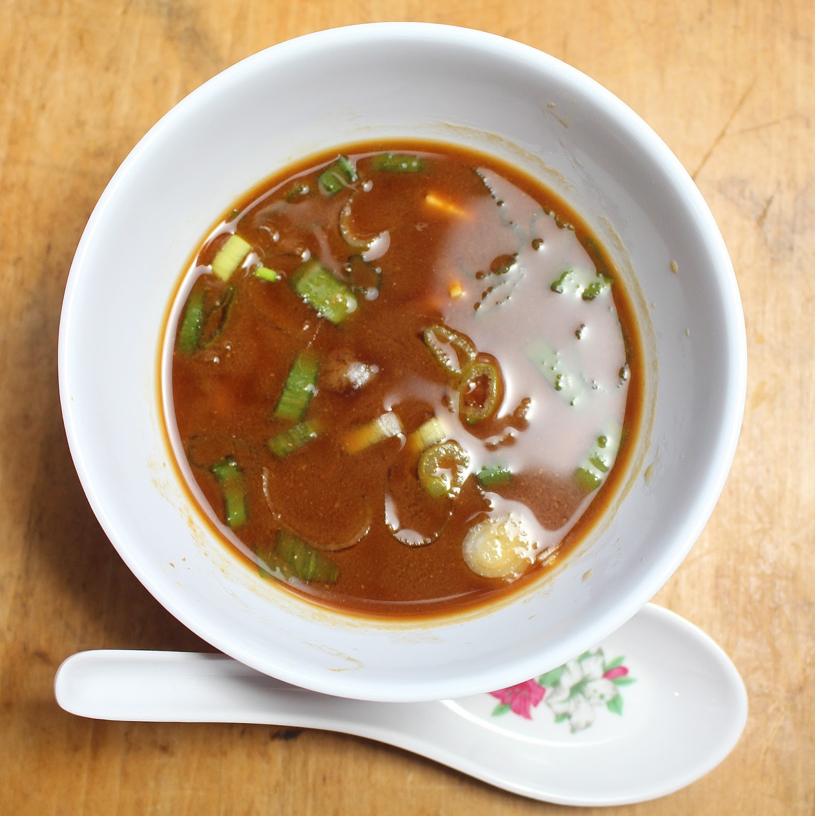 Sue L S Recipe Archive Red Miso Soup