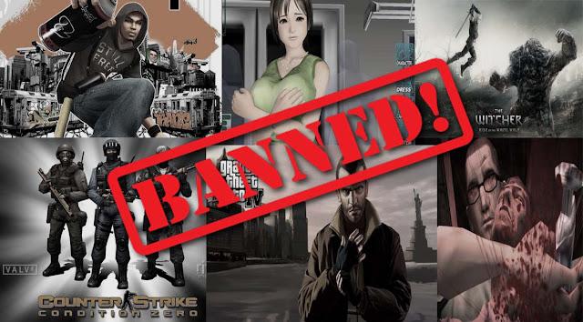 Game Online yang Dilarang di Berbagai Belahan Dunia