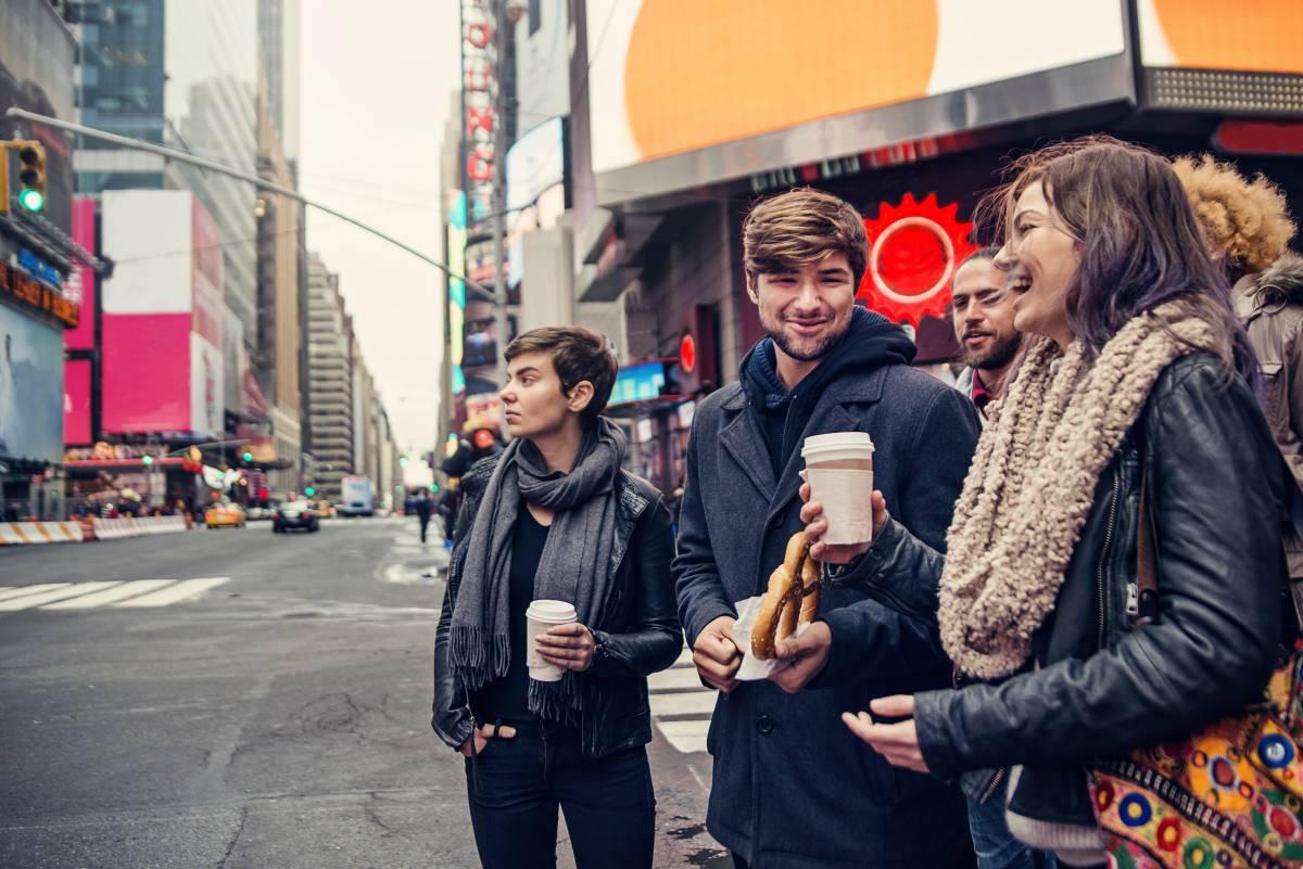 Nueva York: los vacunados sin mascarilla