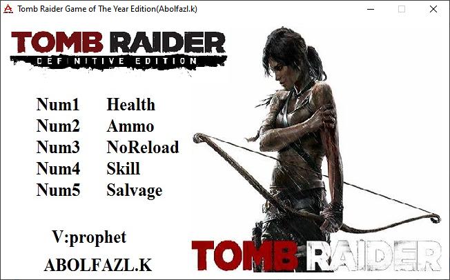 Tomb Raider GOTY Edition: Trainer (+5) [1.0]