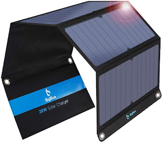 Foldable Portable Solar Charger