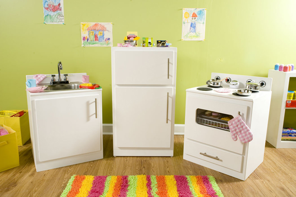 Addy S Kid Sized Play Kitchen
