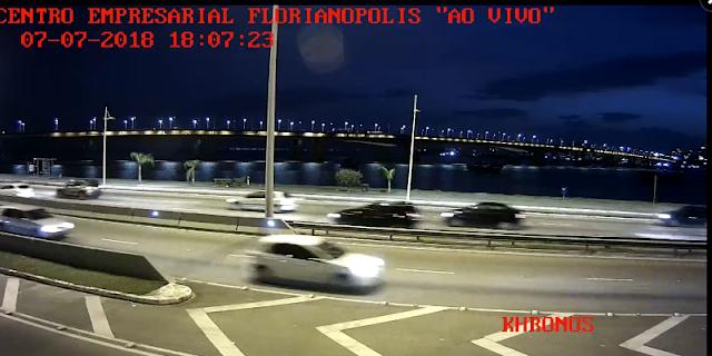 câmera ao vivo da Ponte colombo salles