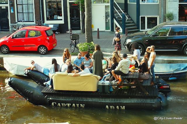 coolaste båten i Amsterdam