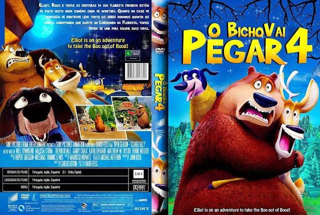 Capa DVD O Bixo Vai Pegar 4