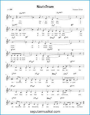 Nica's Dream chords jazz standar