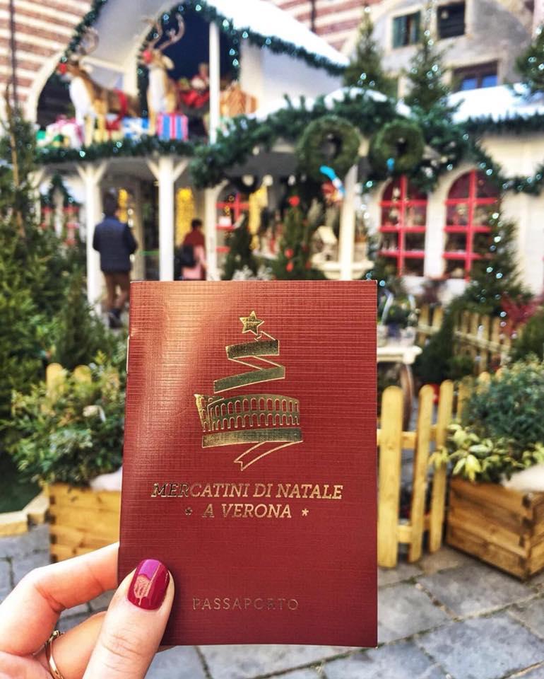 mercatini di natale a verona passaporto