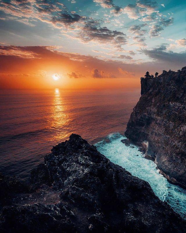Sunset Pura Luhur Uluwatu, Bali - foto andreknot
