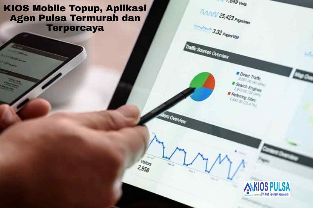 KIOS Mobile Topup, Aplikasi Agen Pulsa Termurah dan Terpercaya