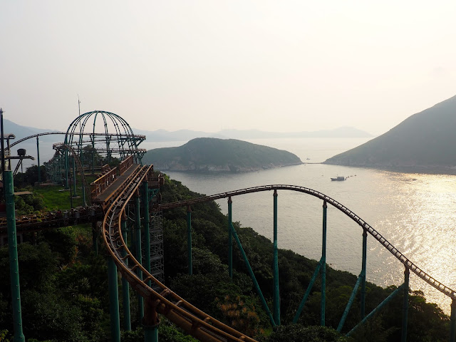 Mine Train rollercoaster in Adventure Land, Ocean Park
