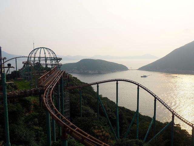 Mine Train rollercoaster in Adventure Land, Ocean Park