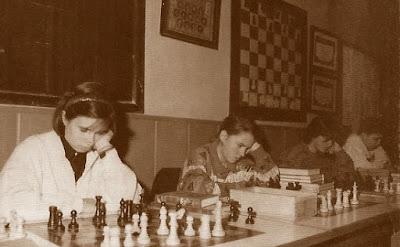 Simultáneas de ajedrez en el XVII Abierto Sant Andreu 1988