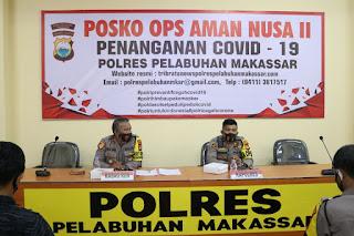 Kapolres Pelabuhan AKBP M Kadarislam Pimpin Rapat Anev Penyerapan Anggaran