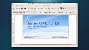 Download Master PDF Editor full free