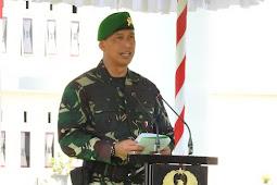 Danrem Pimpin Upacara HUT Ke 71 Infanteri TNI AD di Dompu