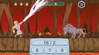 Zeus vs Monsters - Matematyka gry dla dzieci