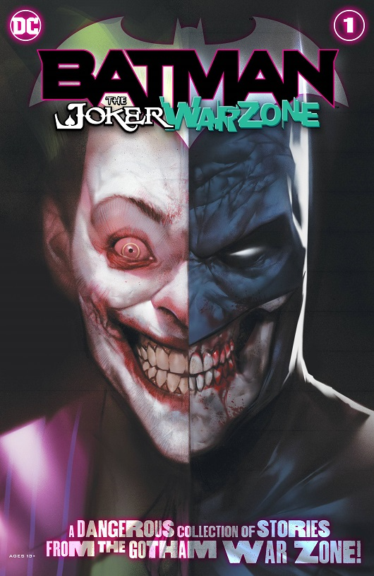 Cover of Batman The Joker War Zone #1