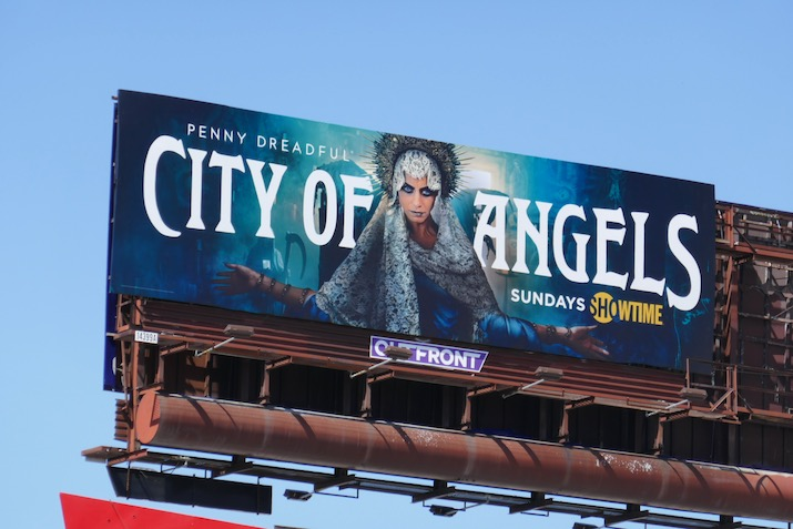 Penny Dreadful City of Angels series billboard