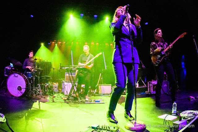 Ellevator at The Danforth Music Hall on October 18, 2018 Photo by John Ordean at One In Ten Words oneintenwords.com toronto indie alternative live music blog concert photography pictures photos